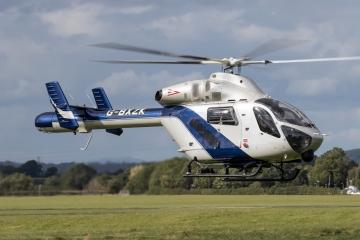 Nem mentők lesznek a BM szerint az angol MD-902-es rendőrségi helikopterek