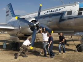 Il-14-es motorindítás, idén utoljára