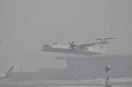 Pénteken távozik két Malév Q400-as Ferihegyről