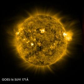 GOES-16 villám és napvihar megfigyelő műhold már figyel