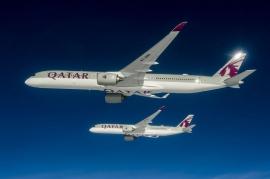 Átvette a Qatar az első A350-1000-es repülőgépét