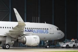 """Az első """"Sharkletes"""" Airbus A320-as"""