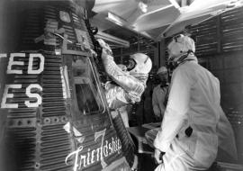 Ötven éve kerülte meg a Földet John Glenn