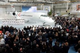 Kigördült a Dassault új Falcon 5X-je