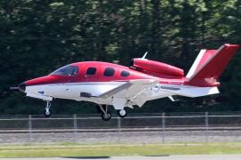 Megkapta a Cirrus az FAA gyártási engedélyét az egy sugárhajtóműves SF50 Vision jetre